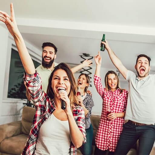 Karaoke-parti Tip 2