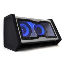 "2X10"" Double Subwoofer with LED Light Effect 2000 watts."