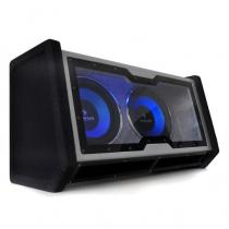 "Dual In Car Hifi Subwoofer 2x12"" Bass + Light Effects"