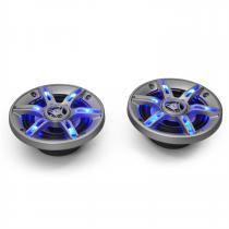"CS-LED6 Blue LED 6.5"" Inch Car Audio Speakers 2x400W max. Pair"