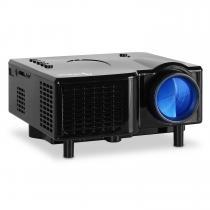 LED Mini Projector VGA Laptop Beamer AV Black