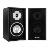 Line 300-SF-BK 2-Way Passive Bookshelf Speakers Pair 150W Black