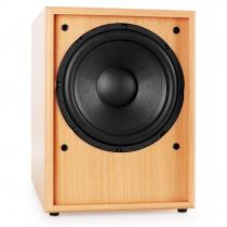 "Line 300-SW-BH Active 10"" Subwoofer - Beech Wood"