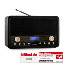 Digidab Retro DAB Digital Radio FM PLL Alarm Clock