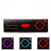 MD-640 Bluetooth Car Stereo Radio SD USB Smartphone holder - black