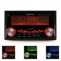 MD-200 2G BT Car Stereo Radio USB SD MP3 Bluetooth 3 Colours Red/Blue/Green