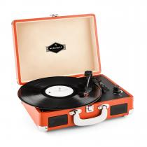 Peggy Sue Retro Suitcase Turntable LP USB Orange