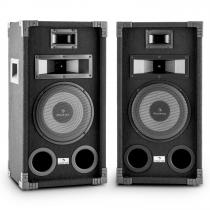 "PA-800 Full-Range PA Speaker Pair 8"" Subwoofer 800W Max"