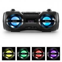 Soundblaster M Boombox Bluetooth CD MP3 USB FM LED Effect 25W RMS