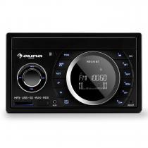 MD-210 BT RDS Car Radio Bluetooth FM USB SD AUX MP3 Microphone 2-DIN 4x75W