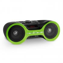 Boombastic Bluetooth Boombox USB SD AUX VHF LED FX