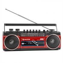 Duke Retro Boombox Portable Cassette player USB SD Bluetooth FM Radio
