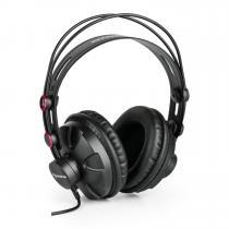 HR-580 Studio Headphones Over-Ear Earphones closed red