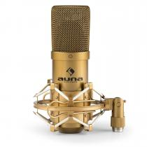 MIC-900G USB Condenser Microphone Cardioid Studio Gold