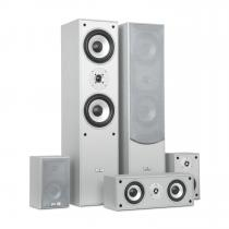 Surround Speaker Box Set Home Theatre 335W RMS Silver