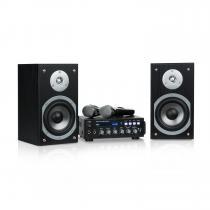 auna Karaoke Star 3 Karaoke Set, 2 x 75 W max., BT, USB Port, Line In 2 x Mic