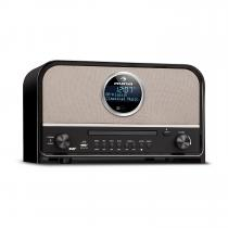 auna Columbia DAB Radio 60 W max. CD DAB + / FM Tuner BT MP3 USB Black