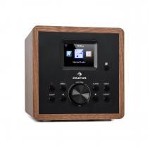 auna Radio Gaga 2.0 Internet Radio DAB+ WLAN VHF Bluetooth AUX IN Wood Decor