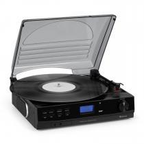 auna TT-186 DAB Turntable DAB + / FM BT Function Belt Drive 33/45 rpm