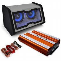 Car Audio System 'Bassophant' 0.1 Amplifier Subwoofer 4000W Set