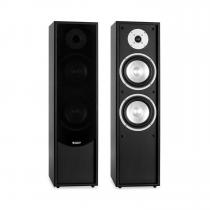 Line 300-BK 2-Way Passive Hi-Fi Tower Speaker Pair 160W RMS Black