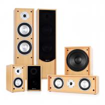 Line 300-BH 5.1 Home Cinema Hi-Fi Speaker System 515W - Beech