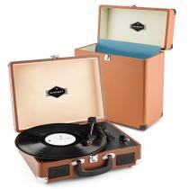 Peggy Sue Record Collector Set Brown | Retro Record Player | Record Case