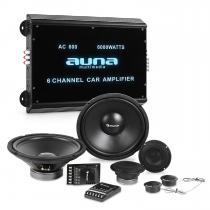 CS-Comp-12 Car HiFi Set   Speaker Complete Set   6-Channel Power Amplifier