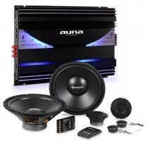 CS-Comp-10 Car HiFi Set 6-Channel Power Amplifier Speaker Set & 6-Channel Power Amplifier