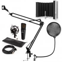 MIC-920B USB Microphone Set V5 Condenser MicrophoneMicrophone Arm Microphone Screen Pop Protection