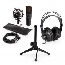 MIC-920B USB Microphone Set V1 Headphones Condenser Microphone Tripod