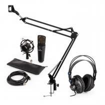 MIC-920V USB Microphone Set V3 Studio Headphones Microphone Condenser Microphone Arm