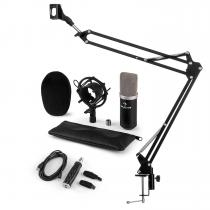 CM003 Microphone Set V3 Condenser Microphone USB Converter Microphone Arm Black