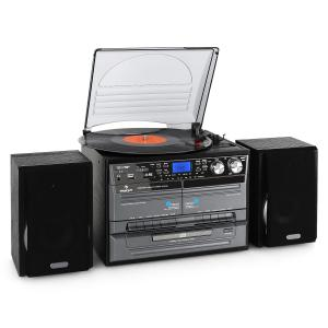 MG-TC-386WE Stereo Hifi System Turntable CD Player USB Port