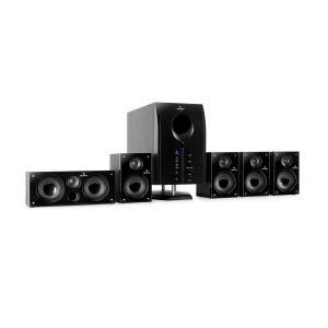 auna MM-Areal 525 BK Impianto home theatre Areal 525 Bk 5.1 attivo subwoofer hif