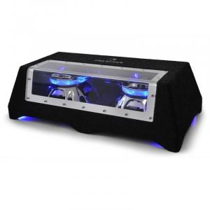 "CB250-50 Car Subwoofer 2 x 25cm (2 x 10 "") 2 x 600W LED Light Effect"
