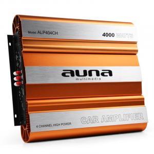 Auna Amplificatore Auto 4000W Mosfet 4/3/2 canali