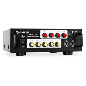 Home cinema ampli PA hifi karaoke stereo 2 micro 400W