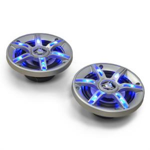 """CS-LED4 4"""" Inch Car Speakers 2 x 250 W max. with Blue LEDs"""