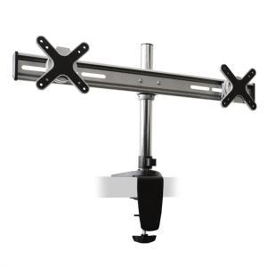 Auna ET01-C02 Staffa da tavolo per 2 monitor <2x8kg