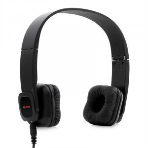 Auna KUL-03 Cuffie bluetooth vivavoce Soft Leather