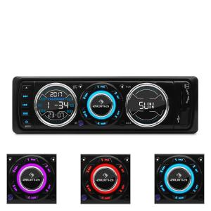 MD-180 Radio de coche FM RDS USB SD MP3