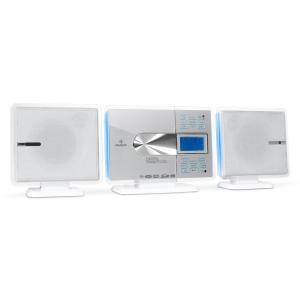 VCP-191 Hifi Stereo System MP3 CD Player USB SD - White