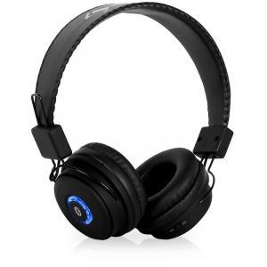 DBT-1 Bluetooth-Kopfhörer Akku Freisprechanlage schwarz
