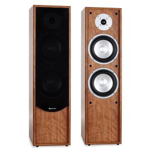 Line 300-WN 2-Way Passive Hi-Fi Tower Speaker Pair 160W RMS Walnut