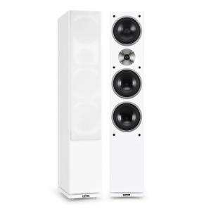 Auna Linie-600-WH diffusori a torre passivi 140W RMS bianchi