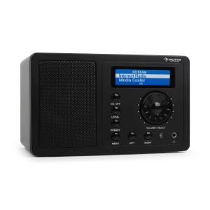 IR-130 Radio Internetradio W-LAN Streaming schwarz