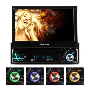 "MVD-220 Car Radio 7"" Touchscreen Bluetooth DVD CD MP3 USB SD"