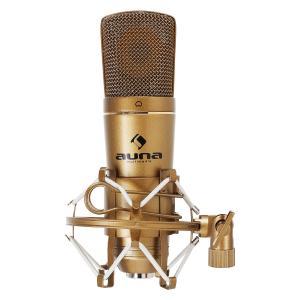 Auna CM600 microfono a condensatore USB in bronzo