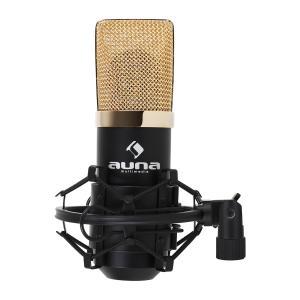 MIC-900BG USB Condenser Studio Microphone Black/Gold